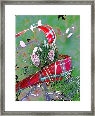 Tis The Season Framed Print by Anne Mott