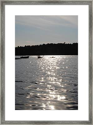 Tispaquin Pond Framed Print by Jennifer Powers