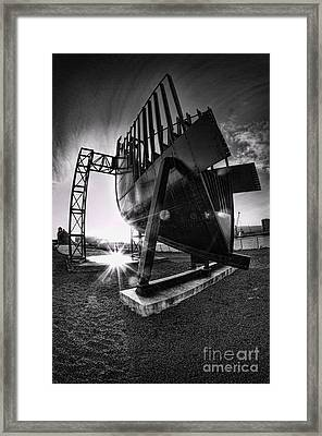 Titanic Series No4. Bow Section Framed Print by Chris Cardwell