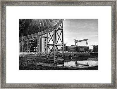 Titanic Series No.5 The Bow Framed Print by Chris Cardwell
