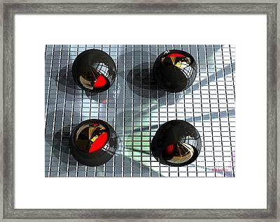 Titanium Olives Framed Print