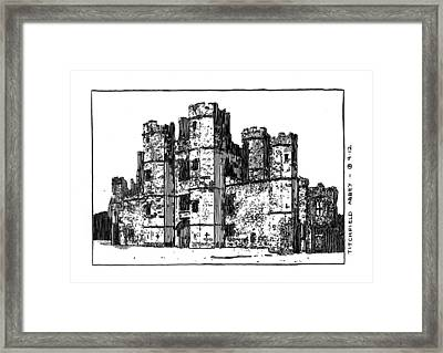 Titchfield Abbey Framed Print by Peter Smith