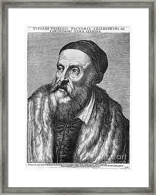 Titian (c1490-1576) Framed Print by Granger
