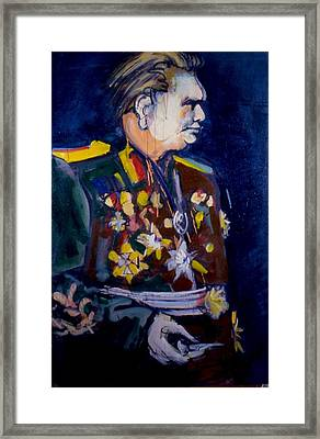 Tito Framed Print by Les Leffingwell