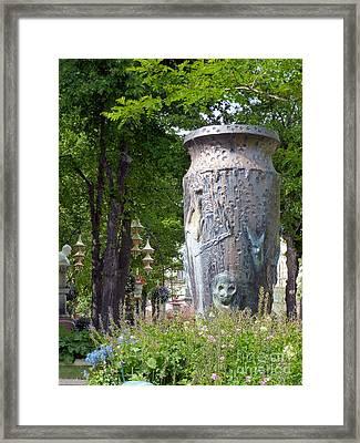 Tivoli Gardens Framed Print