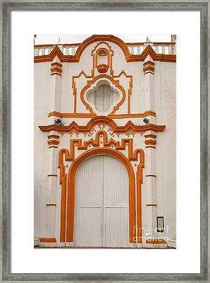 Tlacotalpan Church Veracruz Mexico Framed Print by John  Mitchell