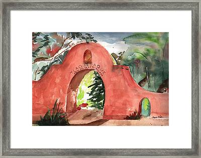 Tlaquepaque Arts And Crafts Village Framed Print by Sharon Mick