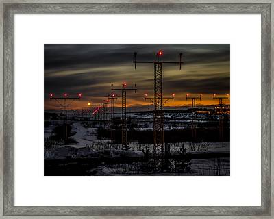 Framed Print featuring the photograph TMP by Matti Ollikainen