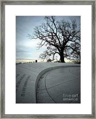 Framed Print featuring the photograph To A New Generation II by Nancy Dole McGuigan