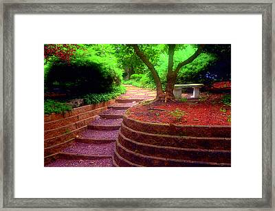 To Be Alone 2 Framed Print