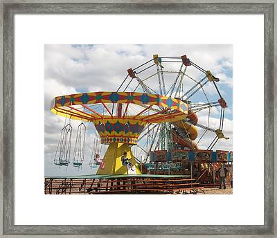 To Be Young Again Framed Print