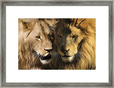 To Dance With My Father Again Framed Print by Julie L Hoddinott