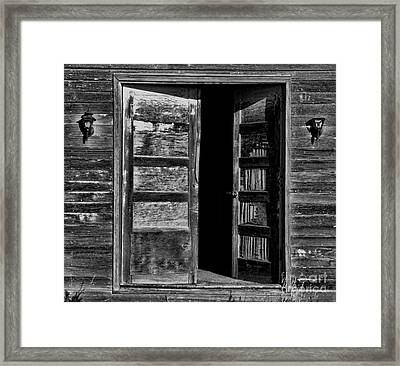 to Dare Framed Print