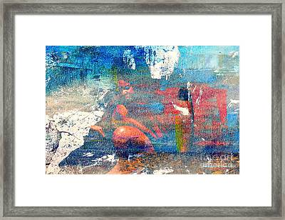 To Feel Blue Framed Print