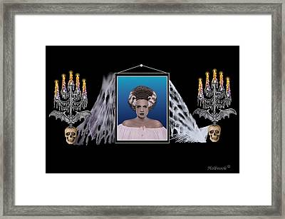 To Frankie With Love Framed Print by Glenn Holbrook