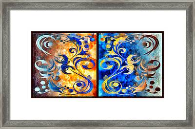 To Harness The Moon And The Sun Framed Print