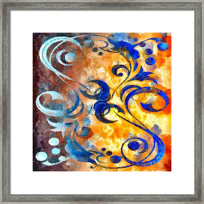 To Harness The Sun Framed Print by Angelina Vick