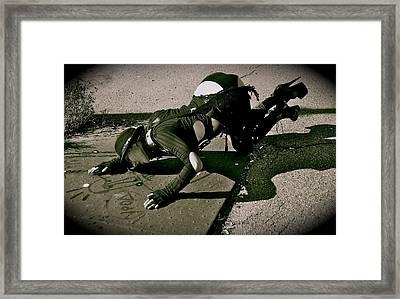 To Love Creeps Framed Print by Svetlana  Sokolova