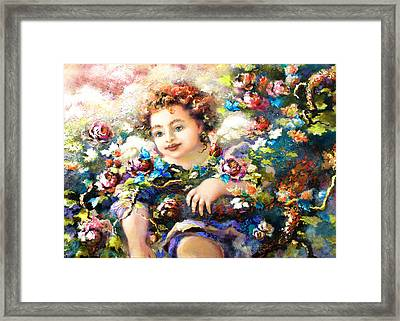 To Mom-john Framed Print