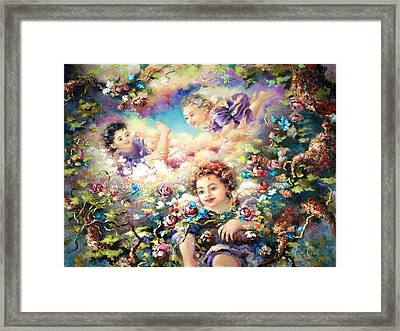 To Mom Framed Print