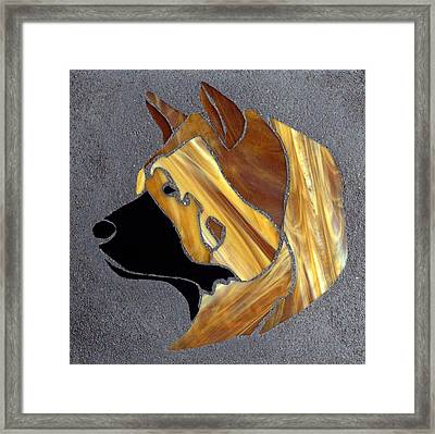To My Friend With Unconditional Love Framed Print by Aron Chervin