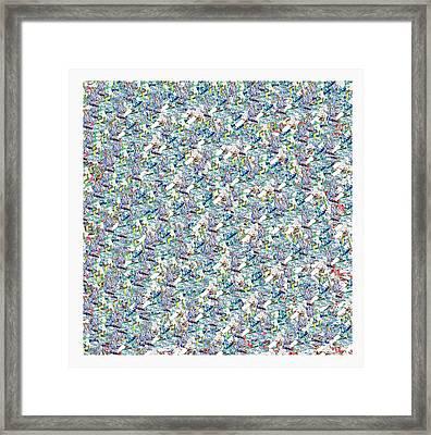 To Pollock Framed Print by Antonio Carlos  Vargas SantAnna