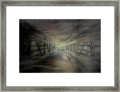 To See A Friend  Framed Print by Mark  Ross