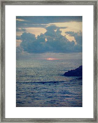 To The Ends Of The Earth Framed Print by Laurie Search