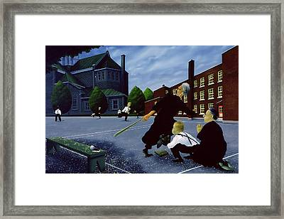 To The Glory Of God Framed Print by Stephane Poulin