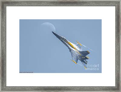 To The Moon Alice Framed Print