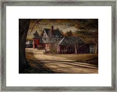 To The Round Room Framed Print by Robin-Lee Vieira