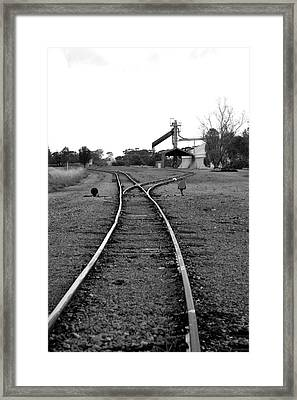 To The Siding Framed Print by Lee Stickels