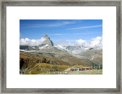 To The Summit Framed Print by Ivy Ho