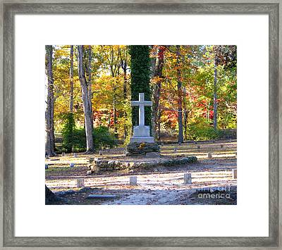 To The Unknown Dead Framed Print by Renee Trenholm