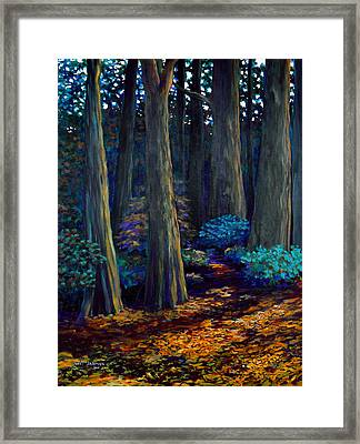 To The Woods Framed Print