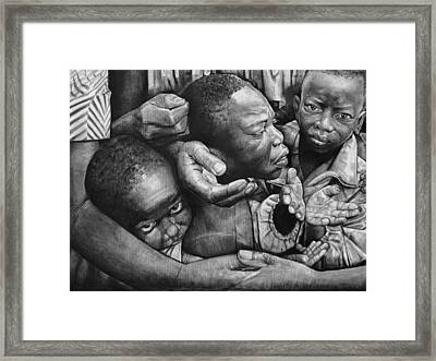 To Whom Much Is Given Much Is Required Framed Print by Curtis James