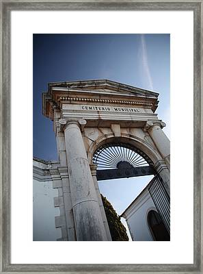 To Your Next Life Framed Print by Jez C Self