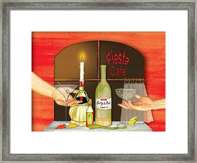 Toast Framed Print by Anne Beverley-Stamps