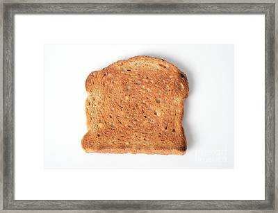 Toast Framed Print by Photo Researchers, Inc.