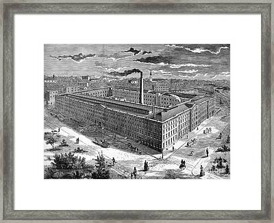 Tobacco Factory, 1876 Framed Print by Granger