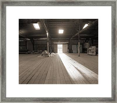 Tobacco Warehouse Framed Print by Jan W Faul