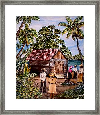 Toco Church Framed Print by Trister Hosang