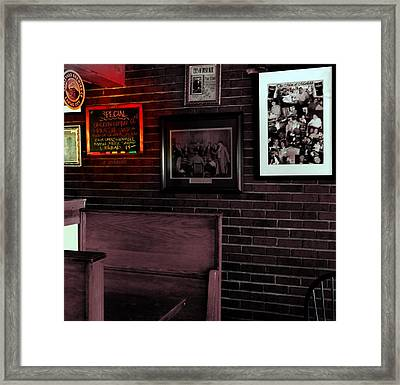 Today's Special  Framed Print by Chris Berry