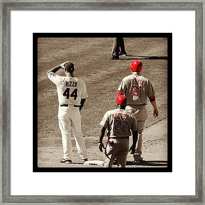 Todd Frazier Racking Up The Hits Framed Print