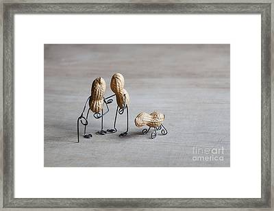 Together 02 Framed Print by Nailia Schwarz