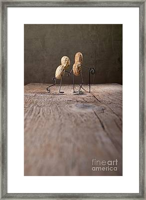 Together 03 Framed Print