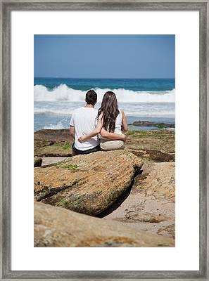 Framed Print featuring the photograph Together by Carole Hinding