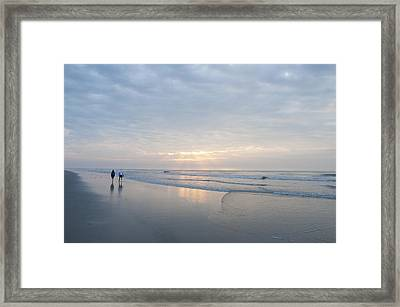 Together Forever Framed Print by Bill Cannon