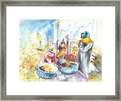 Together Old In Morocco 01 Framed Print by Miki De Goodaboom