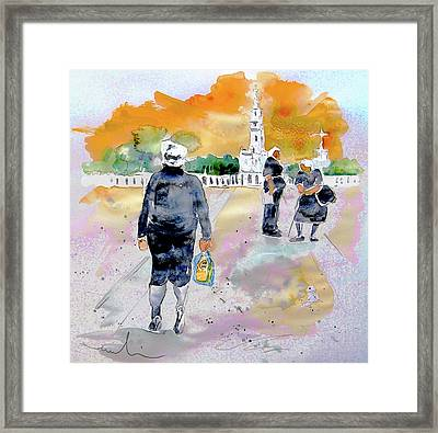 Together Old In Portugal 03 Framed Print by Miki De Goodaboom